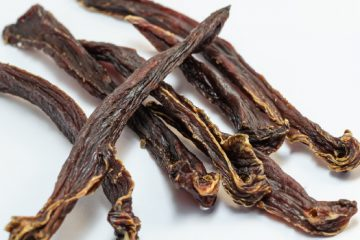 Looking For A Healthy Snack? Try This Eggplant Jerky | ultimatefoodpreservation.com