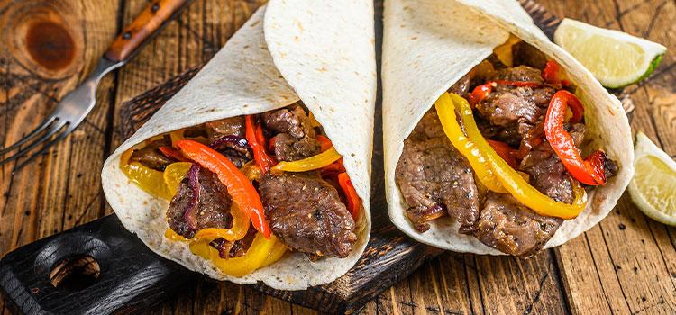 Freezer-Friendly Beef Fajitas
