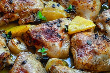 Freezer-Friendly Chicken Traybake For An Easy, Delicious Meal [Recipe] | ultimatefoodpreservation.com