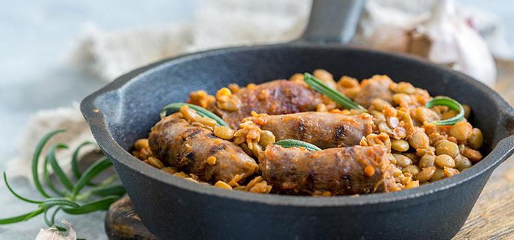 Freezer-Friendly Sausage Casserole For Lazy Days! [Recipe] | ultimatefoodpreservation.com