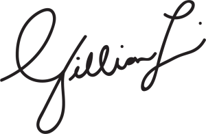 Photo of Gillian Lightman's signature