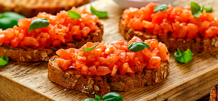 Canned Bruschetta Tomatoes Are A Great Appetizer Idea   ultimatefoodpreservation.com