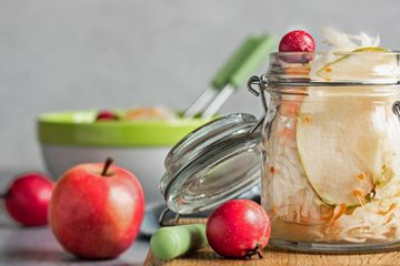 Fermented Sauerkraut with Apple | ultimatefoodpreservation.com