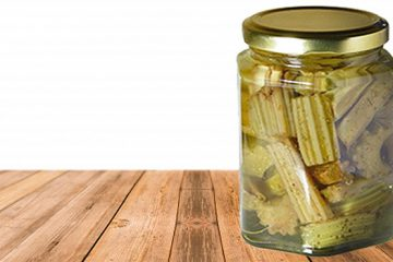 Try Oil-Preserved Thistles For A Delicate Tasting Treat! [Recipe] | ultimatefoodpreservation.com