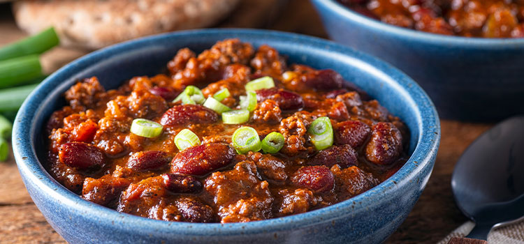 Ground Beef and Beans Chili