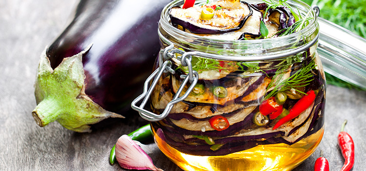 These Oil-Preserved Eggplants Are A Must Try Classic! | ultimatefoodpreservation.com
